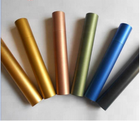 powder coated aluminum tube