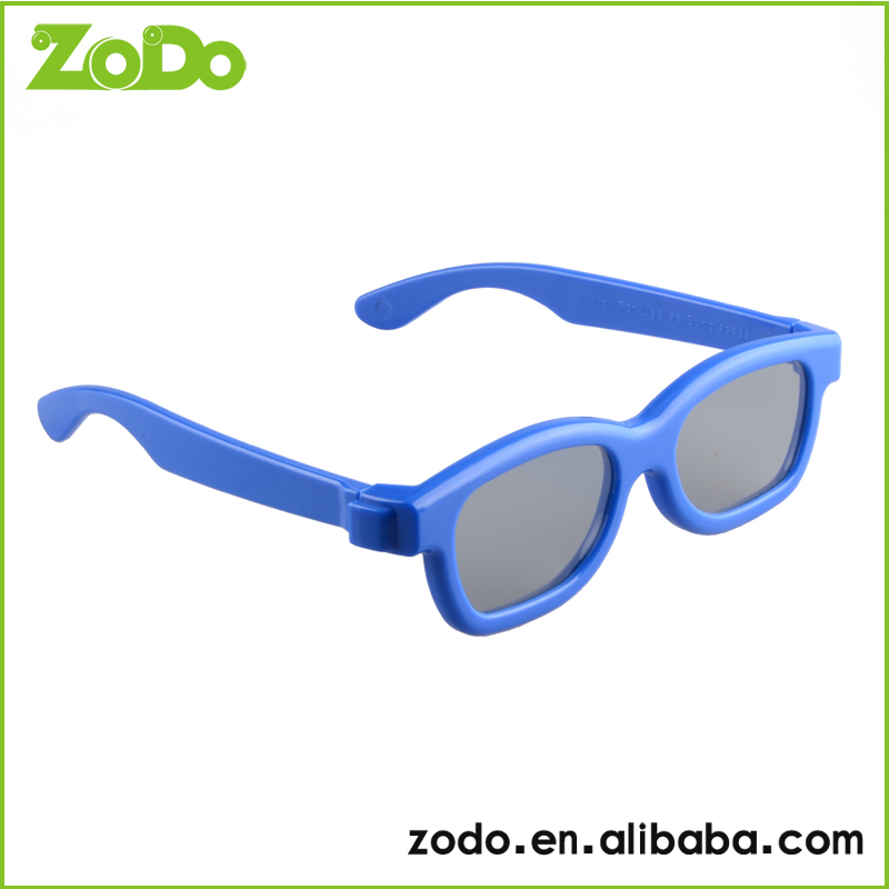 the popular anaglyph 3d polarized eyewear make kids watch TV movies comfortable