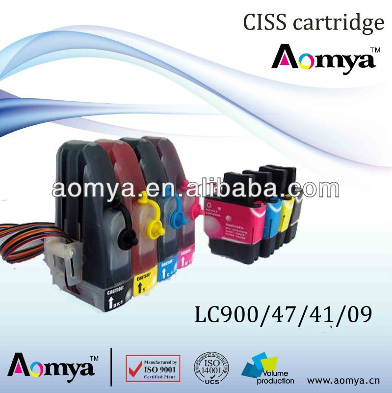 High quality LC47 CISS for Brother MFC-210C/410CN/215C/425CN/MFC-640CW M-C-Y-B/FAX-1840C/MFC-425N/MFC-3240C/MFC-215C/MFC-5440N