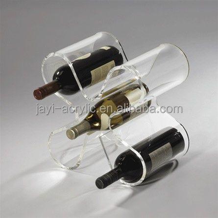 Acrylic Countertop Wine Rackhot Sale Wall Mounted Wine Bottle