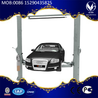 electrical release two post car lift CE approved auto lifter