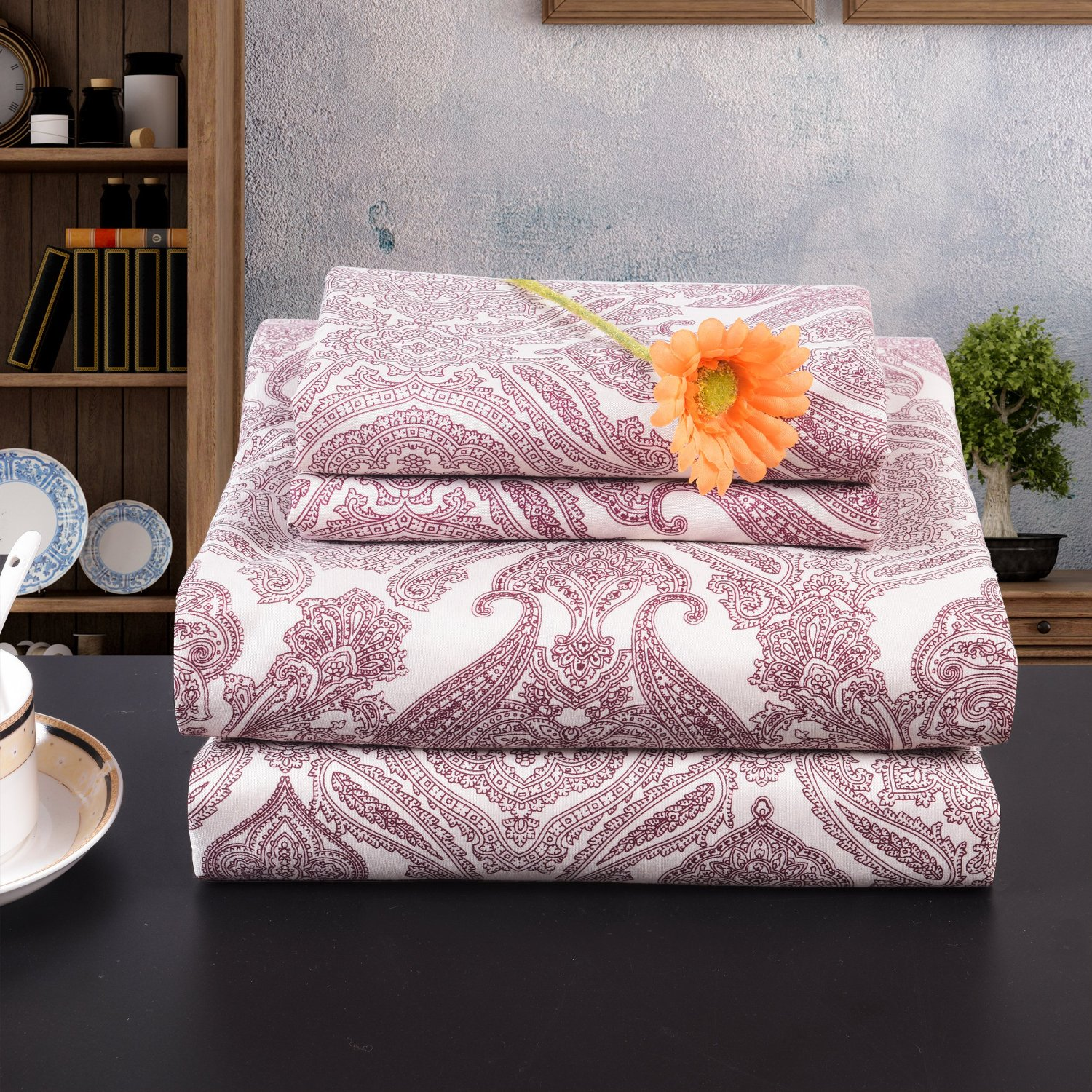 Get Quotations · Lullabi Premium Collection 100% Ultra Soft, Double Side  Brushed Finish, Microfiber Bed