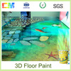 2016 Hot Sale Livingroom Flooring Epoxy Concrete 3D Floor Art Coating