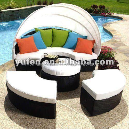 mobilier de jardin en rotin grossiste meuble design-Canapé en osier ...