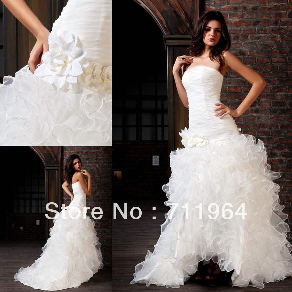 Grecian Style Wedding Gown: Arabic Designer China Puffy Ball Gown Satin Fabric Flowers