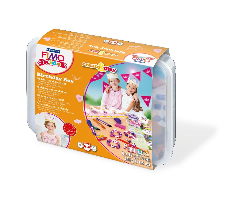 Staedtler 8033 04 FIMO Kids Create and Play Birthday Box Princess