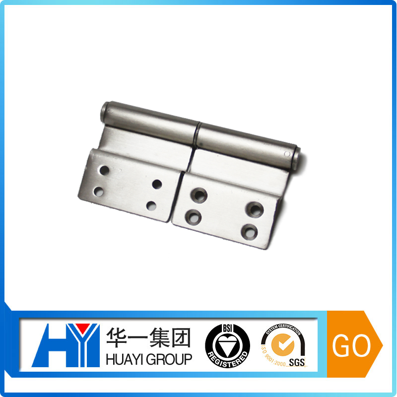Customed heavy duty metal floor hinge concealed cabinet hinge door closer