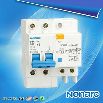 Dz47le 63 Electrical Symbol Circuit Breaker 63a Elcb Buy