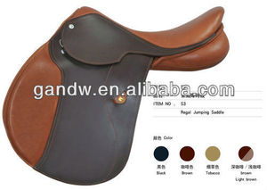 Regal Jumping leather racing horse saddle