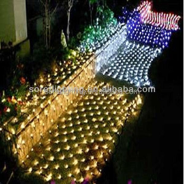 Warm White Led Christmas Net Lights