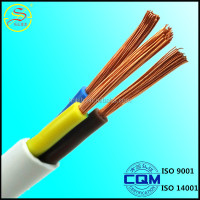 high quality factory price copper conductor low smoke halogen 3 core 4mm2 flexible pvc cable