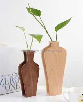 small wooden flower vase buy wooden flower vases small flower