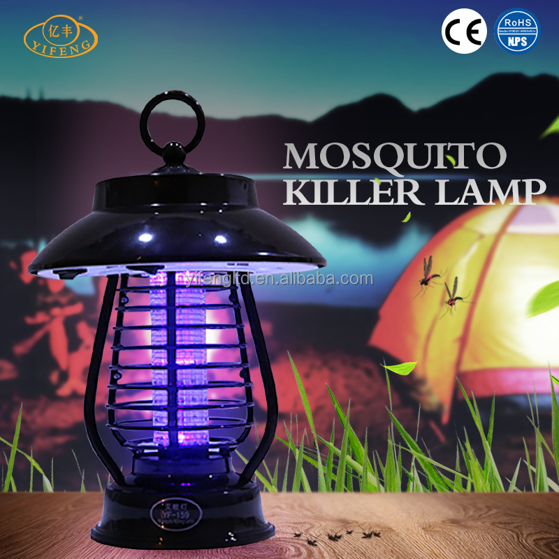 YiFeng YF-159 No Poisons Solar Power Electric Mosquito Killer