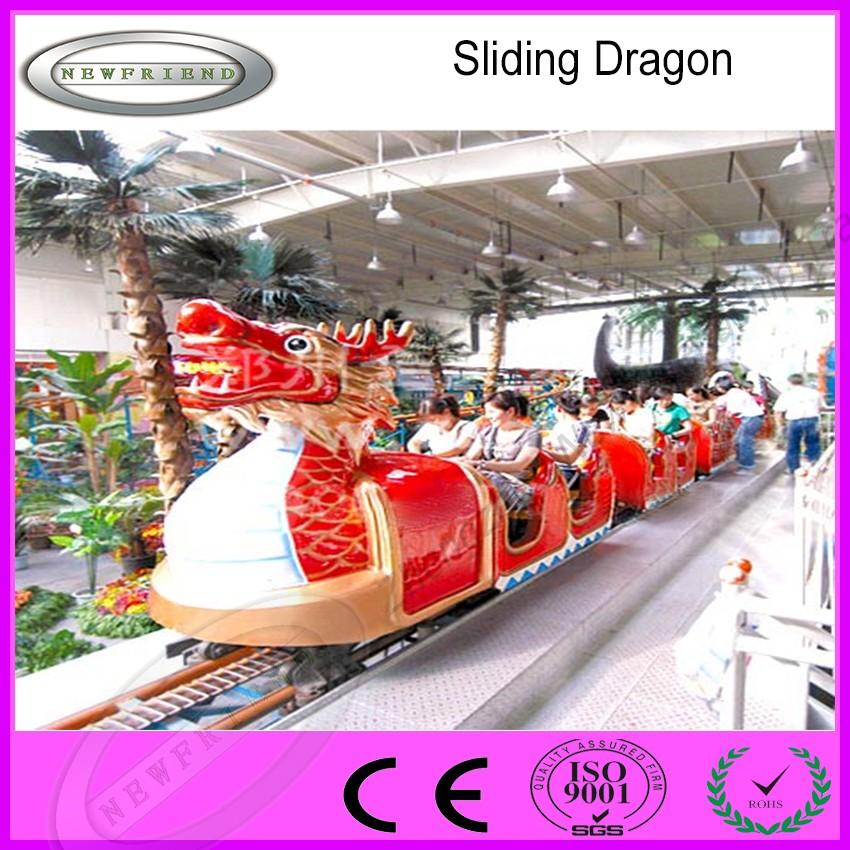 Amusement Park Rides Kids Game Playground Sliding Dragon