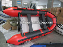 Hot Design Hot Sale Beautiful Low Price Hand Made Beautiful Fishing Boat Inflatable Boat With Aluminum Paddle And engine