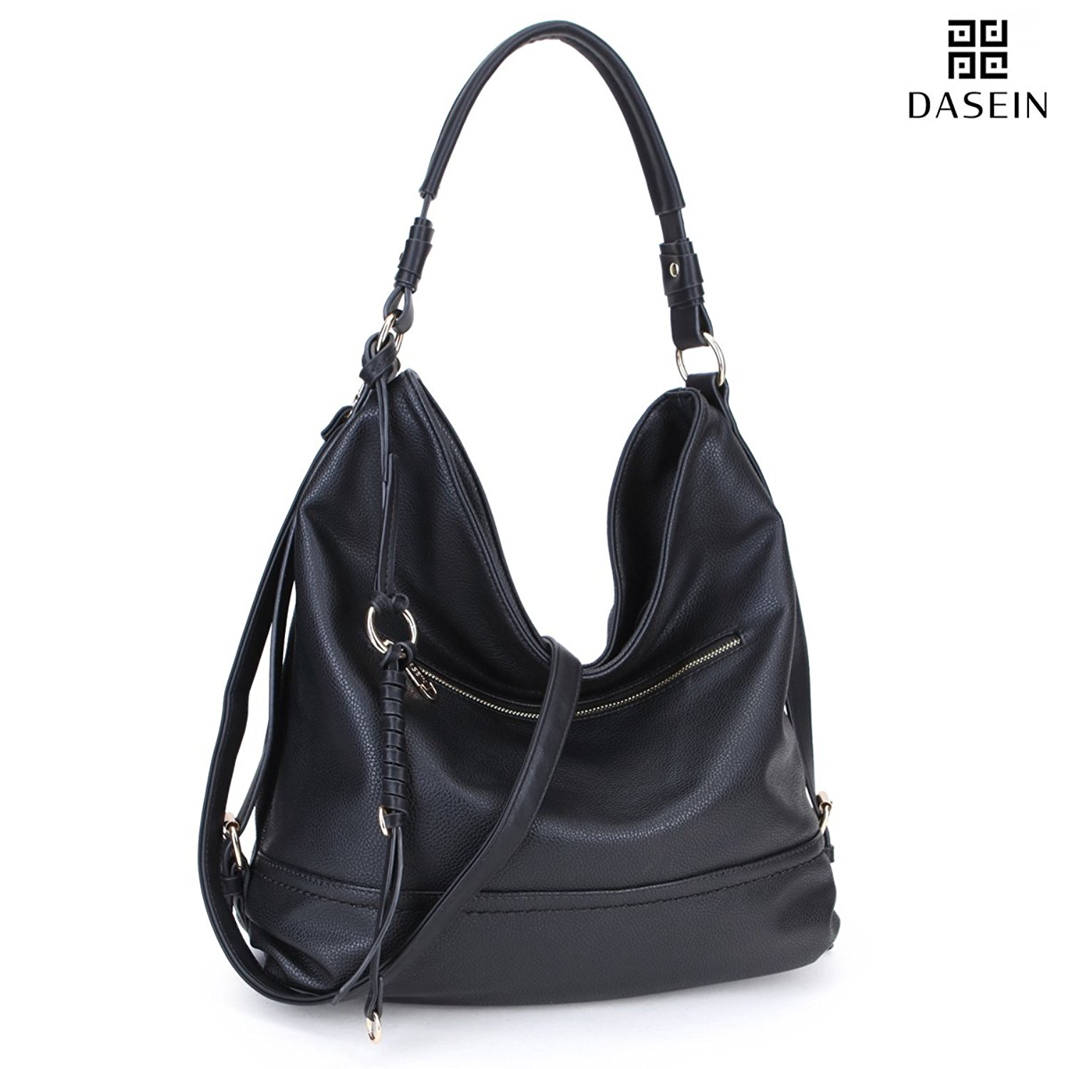 Get Quotations · DASEIN Women Casual Hobo Shoulder Bag Soft Washed Vintage  Handbags Designer Tote Purses 7719eb5f8fe87
