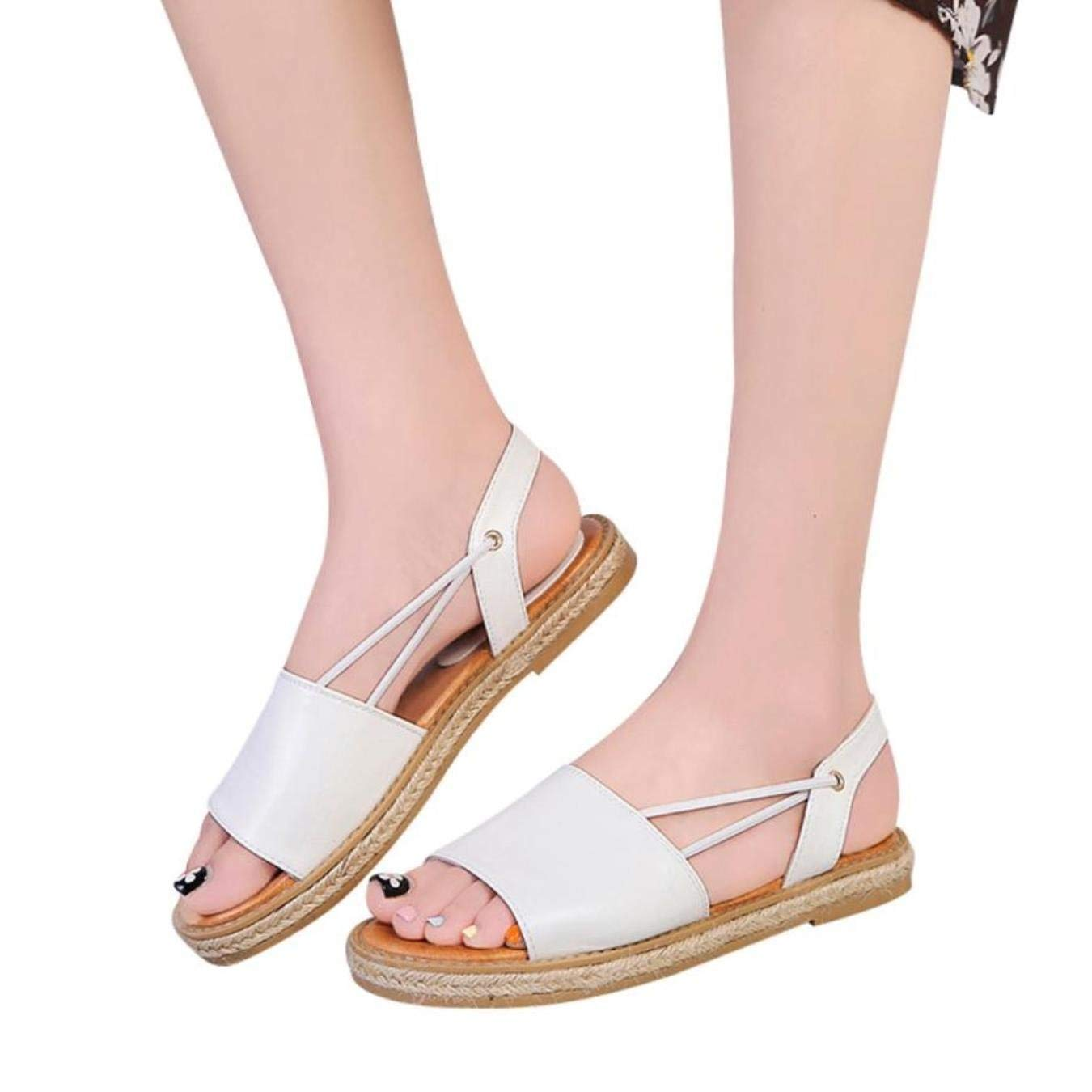 a131bc7ef1dc3 Get Quotations · Ladies Shoes Vintage Gladiator Sandal Women Breathable Toe Beach  Shoes