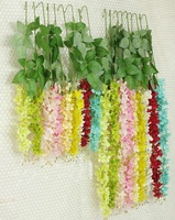 Cheap Factory Direct Artificial Wisteria Flowers Garland Vine