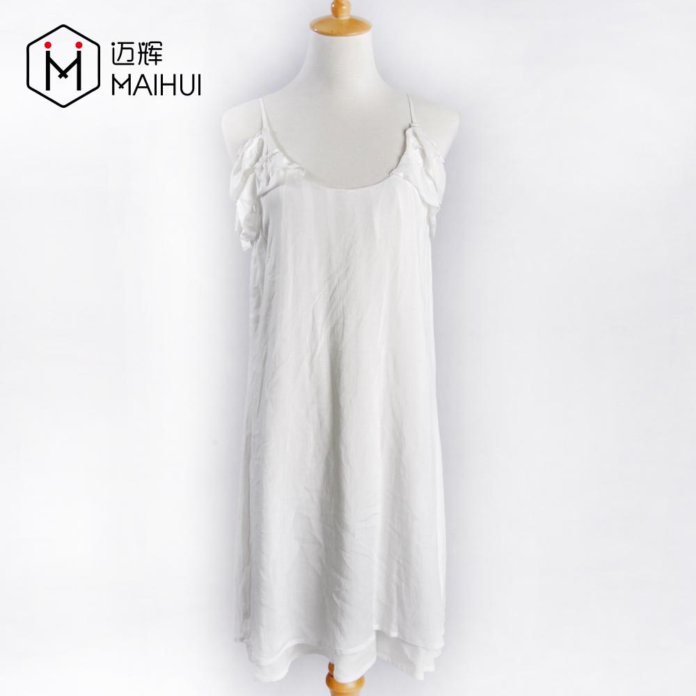 79b147101 Newest Lady Cotton Frock Designs Women White Dresses Suspender Skirt ...