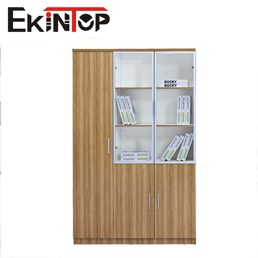 Best selling products Wooden Office File Cabinet with 3 three drawer