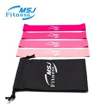 MSJ <span class=keywords><strong>Fitness</strong></span> Set Von 4 Rosa Farbe Widerstand Bands <span class=keywords><strong>Fitness</strong></span> Stärken Muskeln