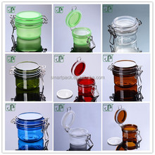 120g Frosted Clip Top Jar Kilner Jar Colored Colored Clip Top Airtight Jar