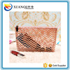 China supplier see through PVC clear cosmetic bag