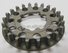 metal work shop in China cnc precision machining service cnc steel spur gear custom fabrication with sand blast