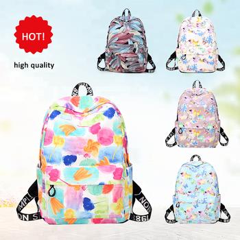 d22a8f7dde China Manufacturer Low MOQ High Quality Fashion all over printed design bag  bagpack backpacks print logo