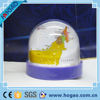 Factory directly sales plastic photo frame snow globe,water globe snow,crystal snow globe water ball