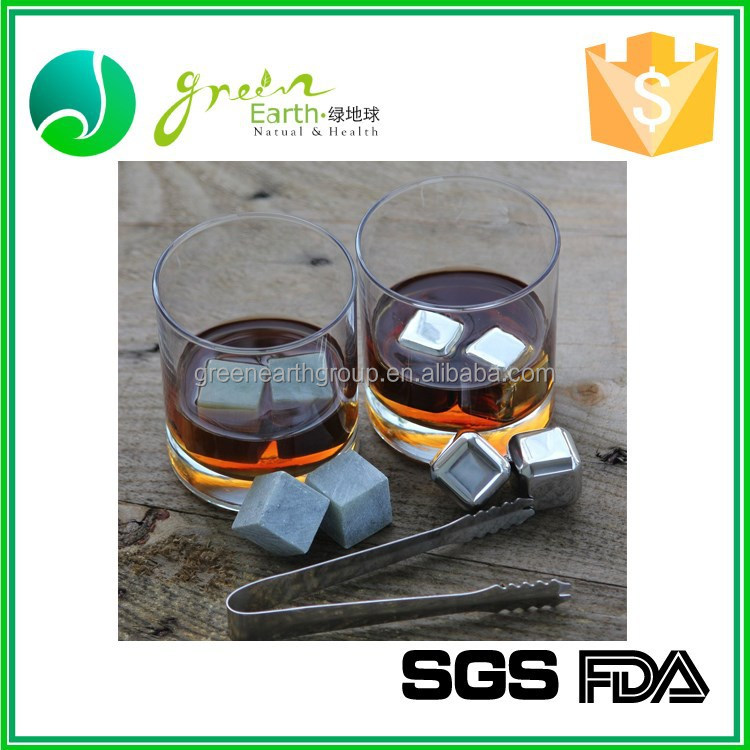 China Factory Supplier Cheap Decorative Stainless steel dice ice cube