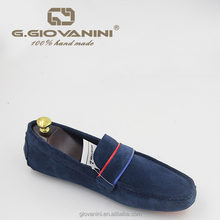 2018 Latest Design suede loafers US website hot blue suede shoes