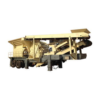 High Quality Tire Mobile Crusher Crushing Screening Plant In China