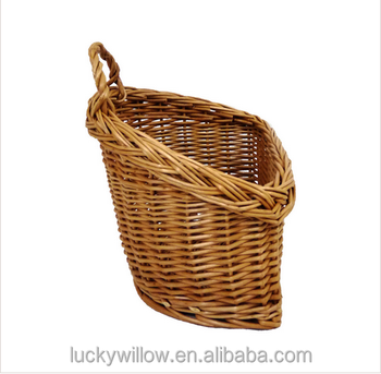 Wall Hanging Storage Baskets wicker wall hanging kitchen storage cutlery condiment basket - buy