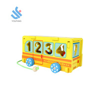 YF-M218 hohe qualität DIY pädagogisches <span class=keywords><strong>spielzeug</strong></span> kinder pull string zug <span class=keywords><strong>spielzeug</strong></span> holz digitale bus <span class=keywords><strong>spielzeug</strong></span>