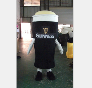 Client own design custom Beer bottle cup mascot costume