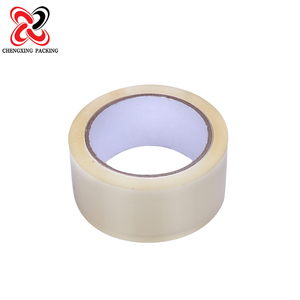 bopp water soluble acrylic single side packing adhesive red tape