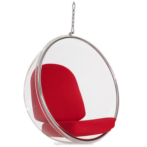 Hot Sale 2018 Replica home furniture bedroom Acrylic Hanging Bubble chair cheap