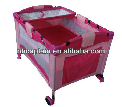 folding portable kids/ children portable bed