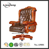 Guangdong luxury leather antique chair parts wholesale