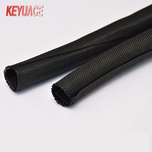 MZF Self-wrapping PET Dust Proof Textile Cable Sleeve