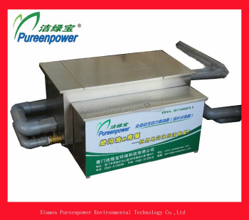 Kitchen Sink Grease Trap Stainless Steel Automatic Oil Interceptor ...
