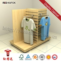 Retail store removable merchandise free standing hat display fixture Red Kapok