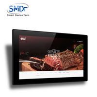China wholesale alibaba 21 inch tablet pc with window os full HD for coffee shop menu display