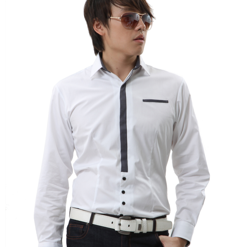 White Shirt Fabric Men's Shirt Fabric Dyed And Printed Polyester/Cotton Fabric Clothes Shirting