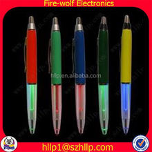 Low cost CE ROHS adhesive plastic pen