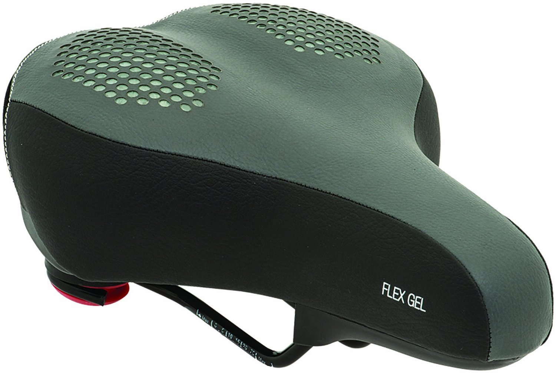 Bell Sports 7047015 Recline 610 Comfort Bicycle Seat, Flexible Flex Gel + Foam