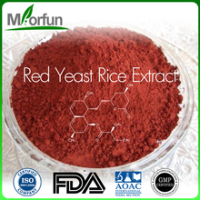 100% Pure And Organic Red Yeast Rice Extract Monacolin K Kojic Acid Powder 99% For Certificates