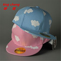 2016 Worldwide Free Korean children hat paternity clouds small fresh out cute casual hip hop baseball