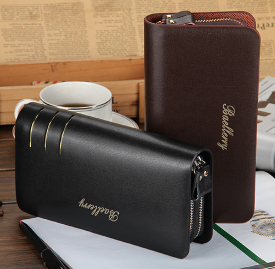 Top sale high quality PU <strong>leather</strong> men's wallet <strong>clutch</strong>